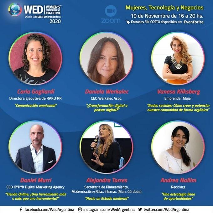 daniela werkalec WED Argentina